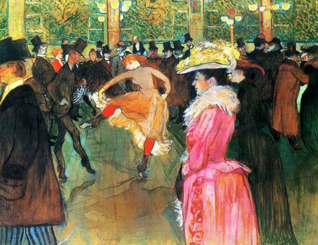 Ball at the Moulin Rouge (1890)