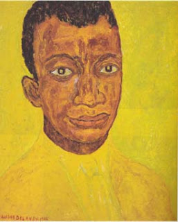 James Baldwin portrait by Beauford Delaney