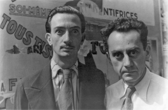 Dalí and Man Ray