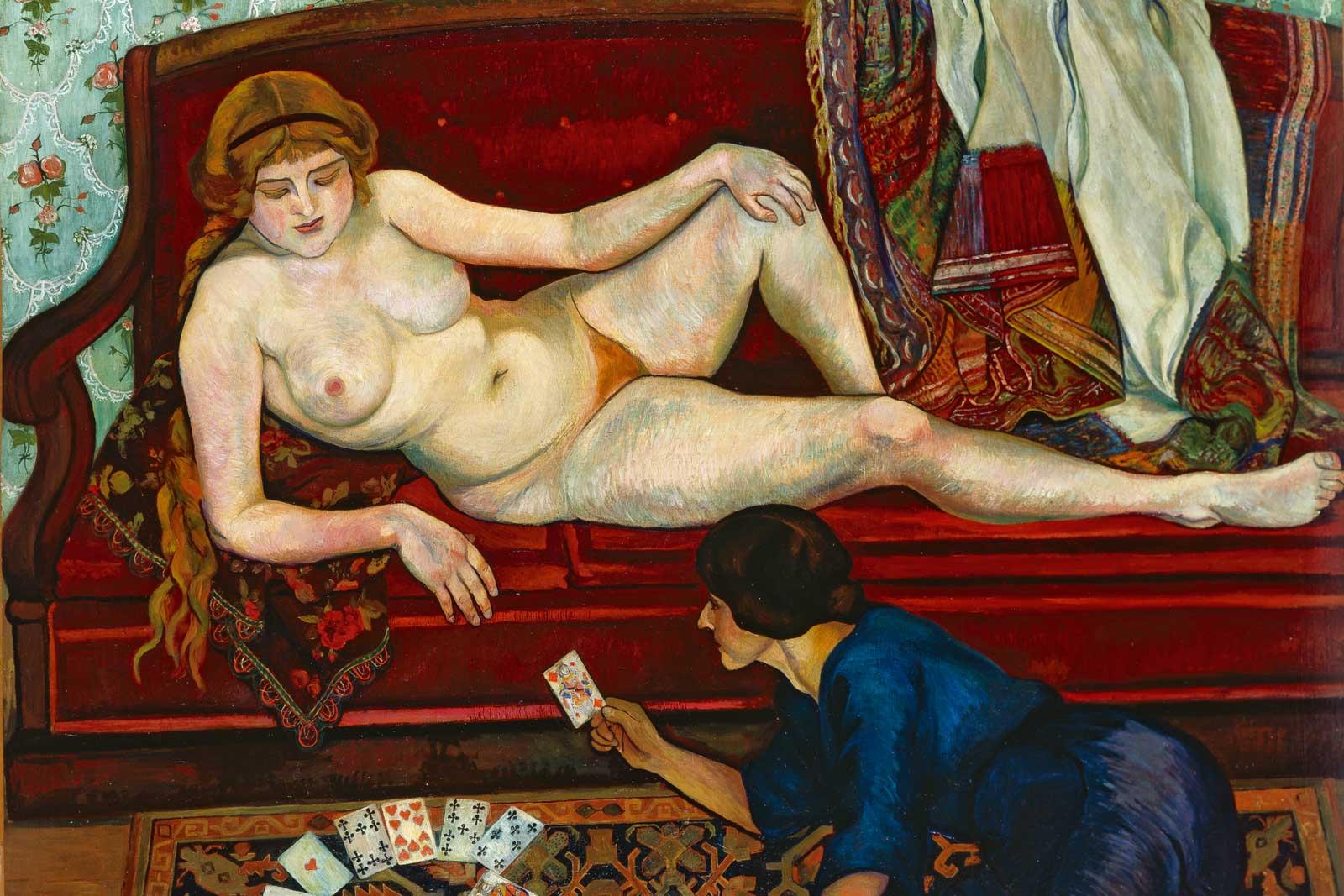 Suzanne Valadon, La Tireuse de cartes