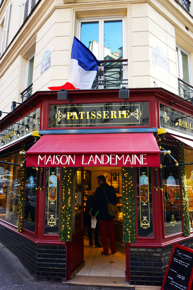 The rue des Martyrs by Richard Nahem