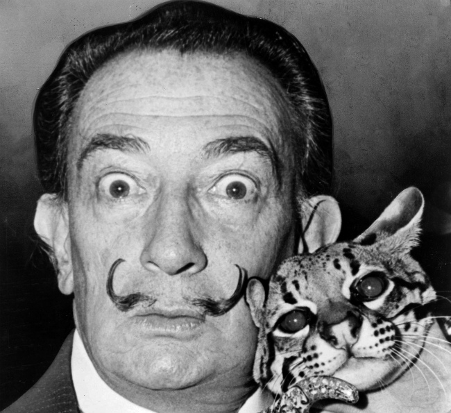 Dalí in the 1960s