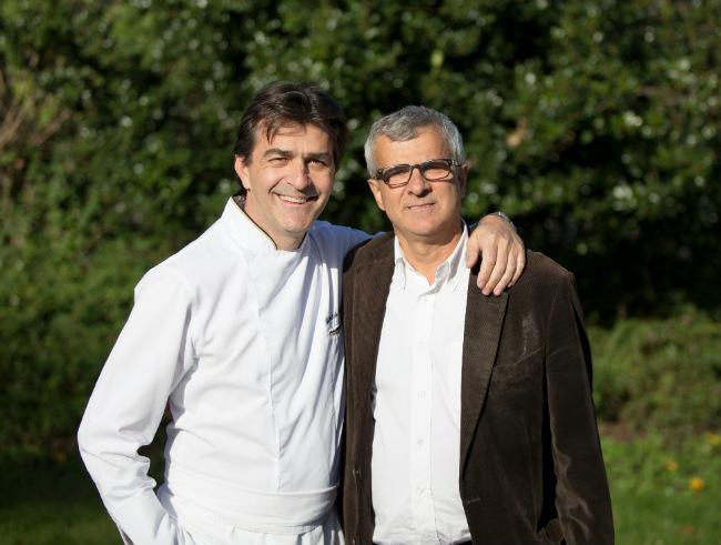 Yannick Alléno and JF Hesse