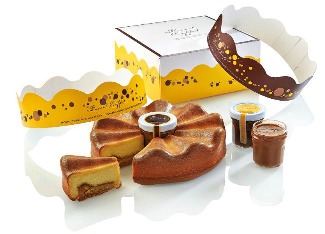 Pascal Caffet's marvelous galette des rois