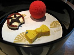 Clown bento teatime at the Mandarin Oriental Paris