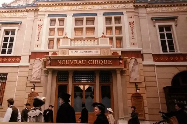 The Nouveau Cirque, Mandarin Oriental Paris