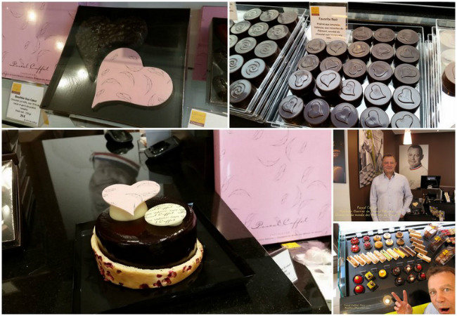 Pascal Caffet's chocolates