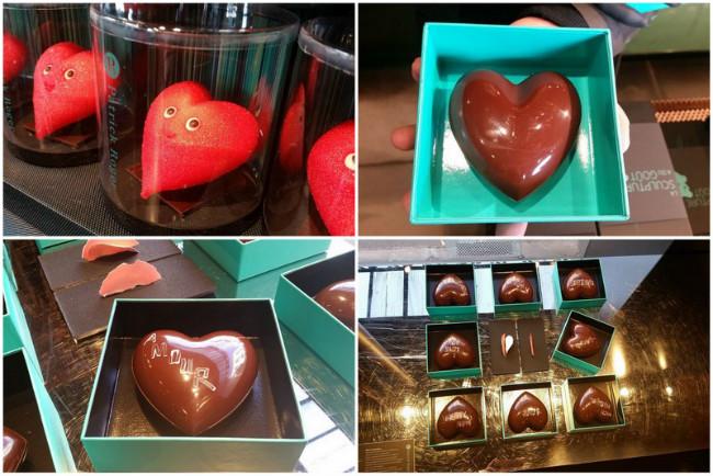 Patrick Roger's Valentine's chocolates