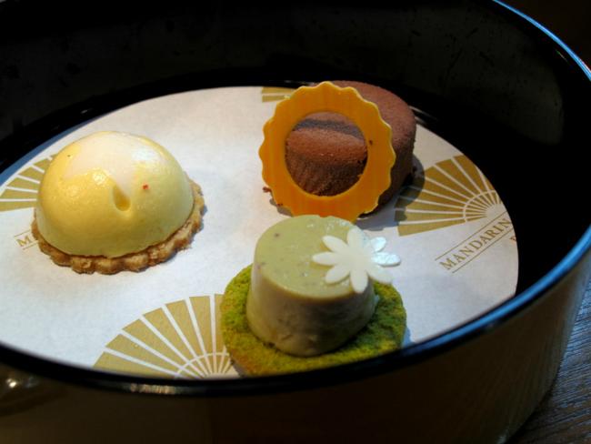 Clown bento teatime at the Mandarin Oriental Paris
