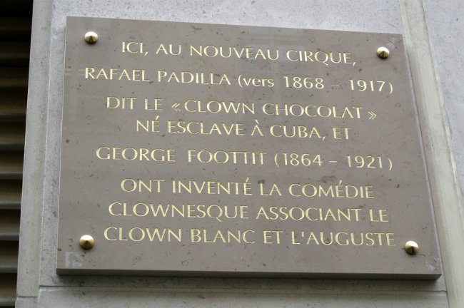 History plaque unveiled recently by Mayor Anne Hidalgo