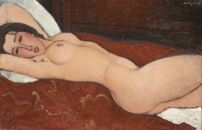 Reclining Nude, 1917, in The Metropolitan Museum of Art
