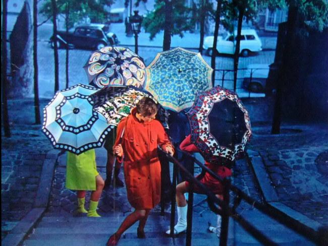 A Nod to the Paris Parapluie: A Celebration of the Umbrella