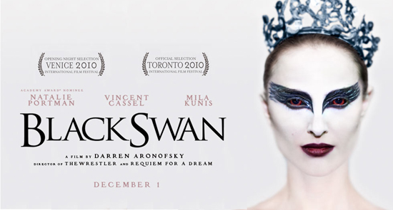"poster for ""Black Swan"" the film"