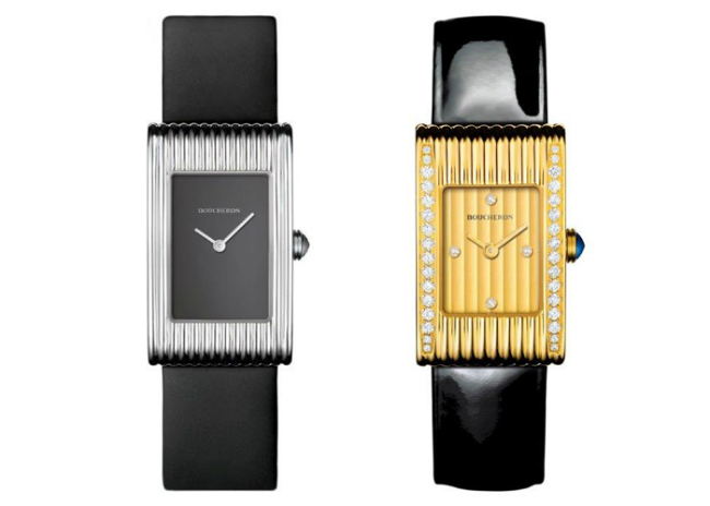 Boucheron's iconic timepiece, the Reflet watch
