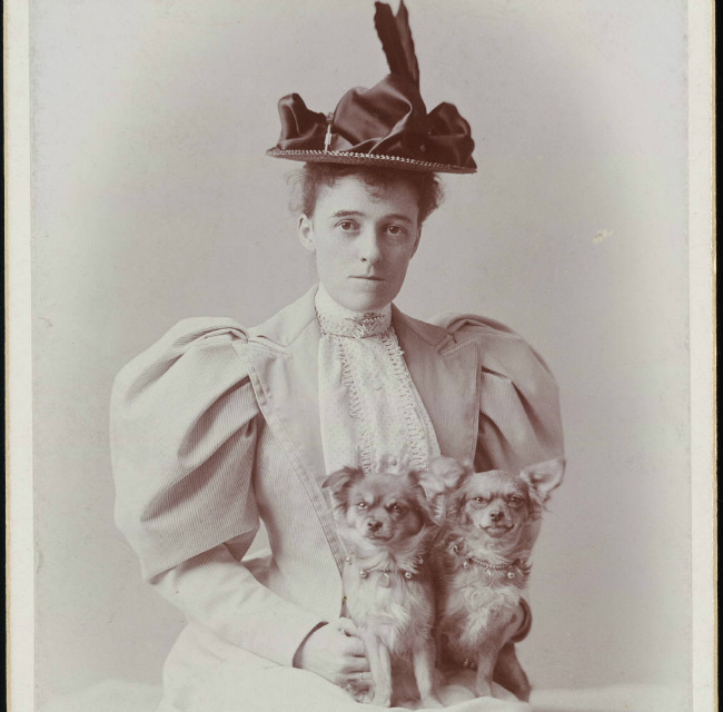 portrait of Edith Wharton