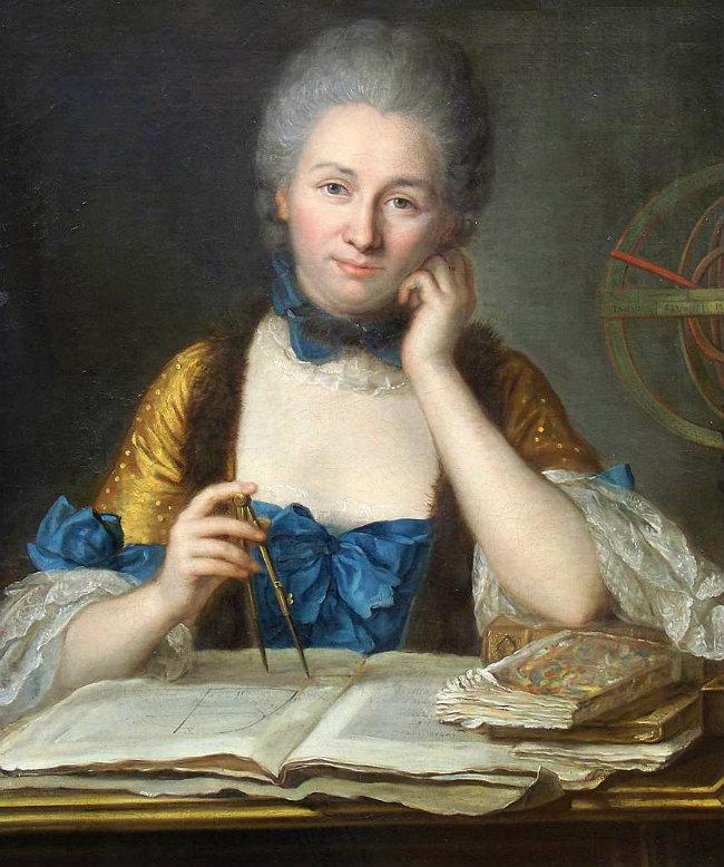 Portrait of Émilie du Châtelet