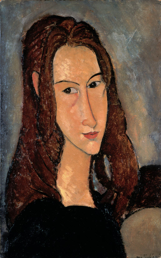 Portrait of Jeanne Hébuterne