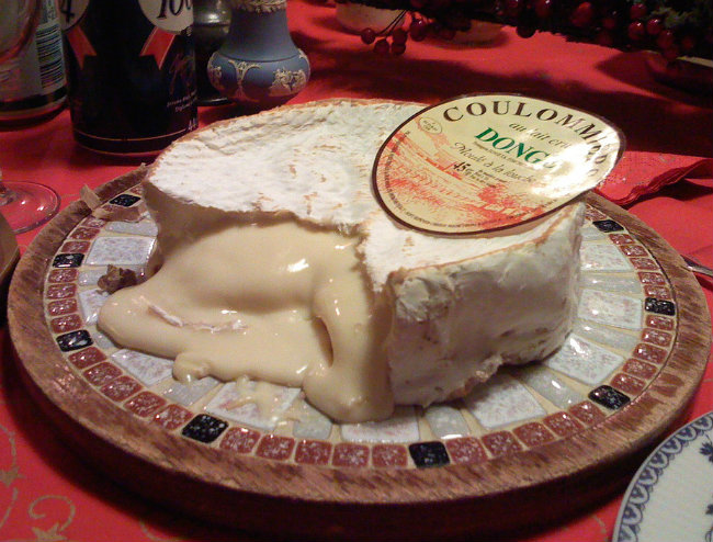 ripe French cheese