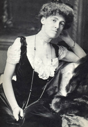 undated photo of Edith Wharton