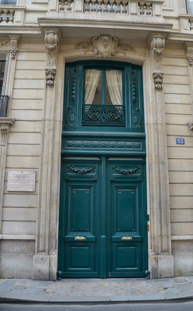 53 rue de Varenne, where Edith Wharton lived