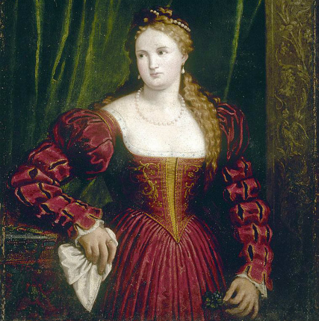 portrait of a woman with a handkerchief