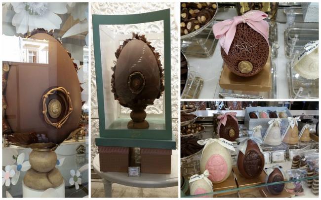 Easter chocolate by Les Marquis de Ladurée
