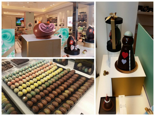 Pierre Marcolini Chocolate Easter Wonderland paris