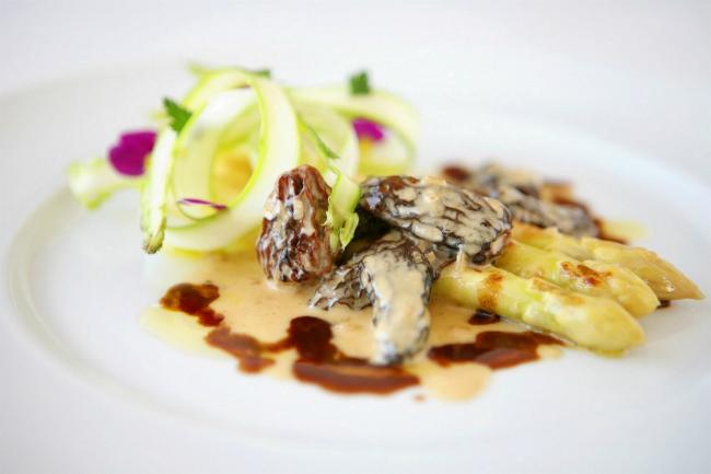 A dish at Benoit Tokyo