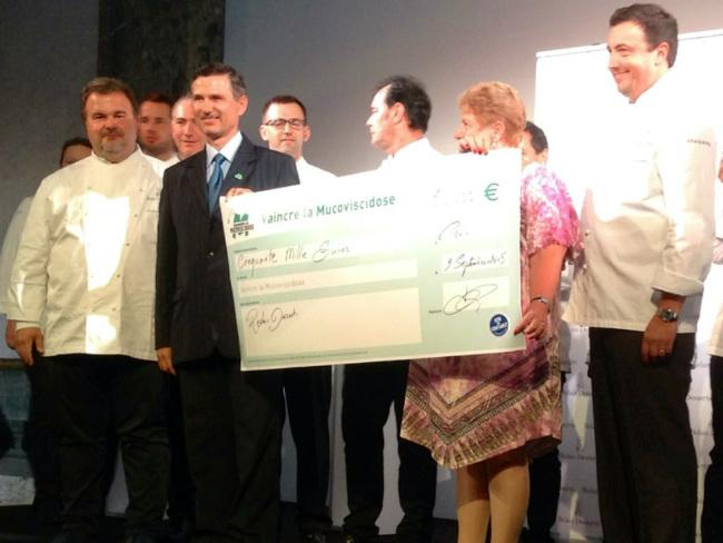 Relais Desserts raised 50,000€ for charity Vaincre la Mucoviscidose last year