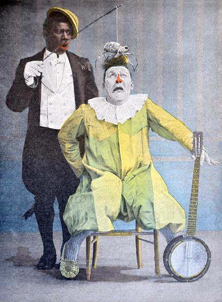 The clown duo, Footit et Chocolat
