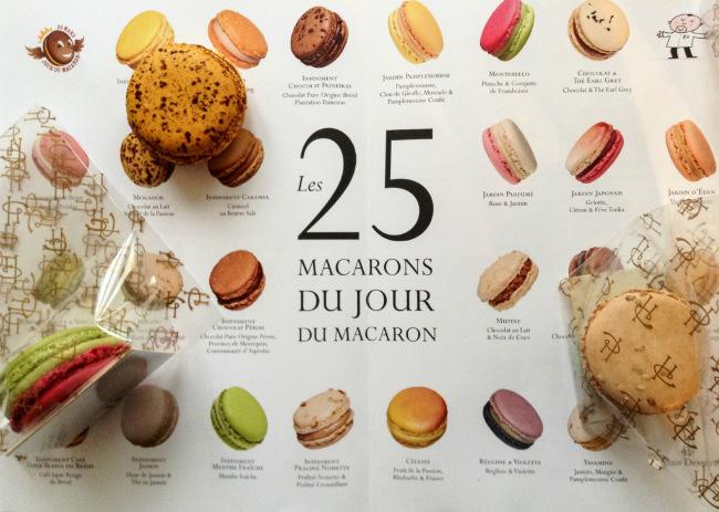 """Pierre Hermé's """"Jour du Macaron"""" brochure"""