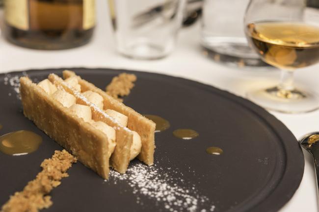 Millefeuille dessert at Le Moulin de la Galette