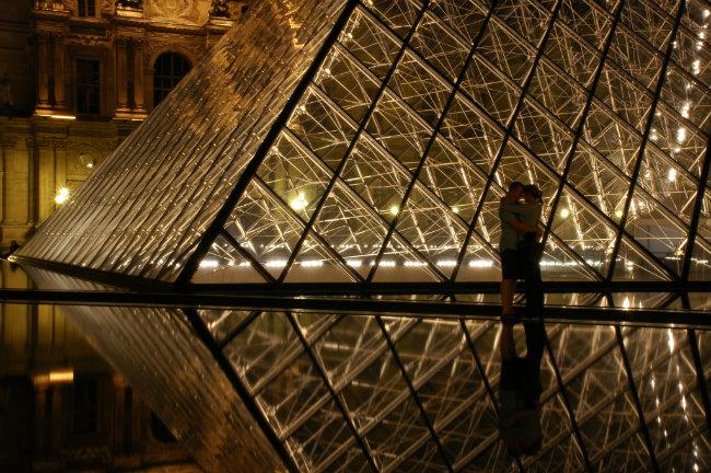 Paris pyramid