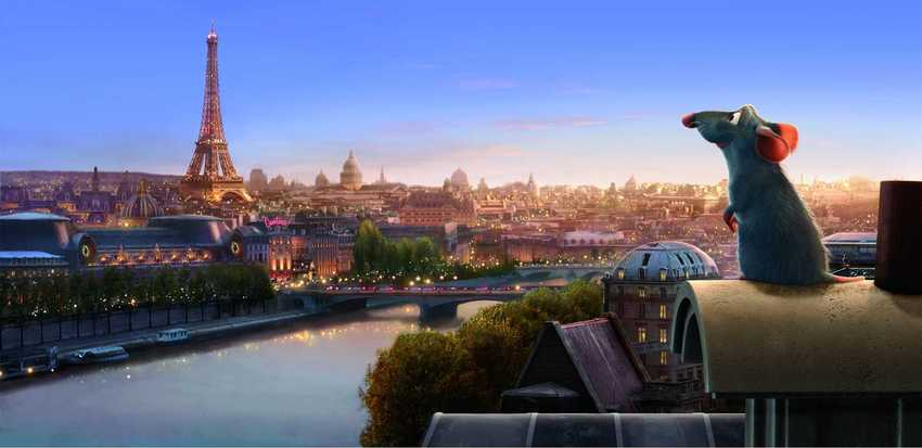 "A scene from ""Ratatouille."""