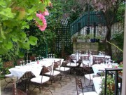 The terrasse at Le Moulin de la Galette