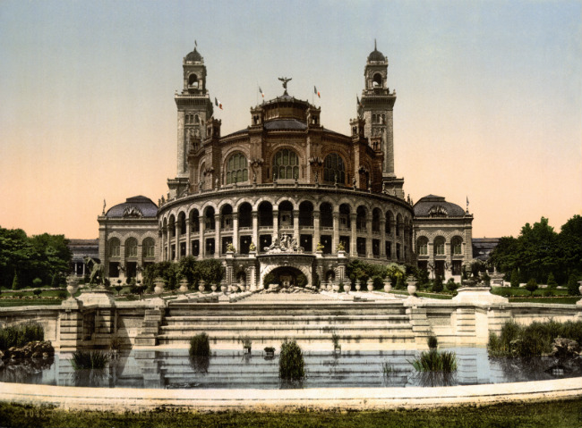 The Trocadéro Palace, 1900