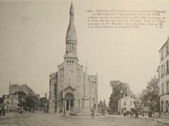 vintage postcard of the Eglise d'Auteuil