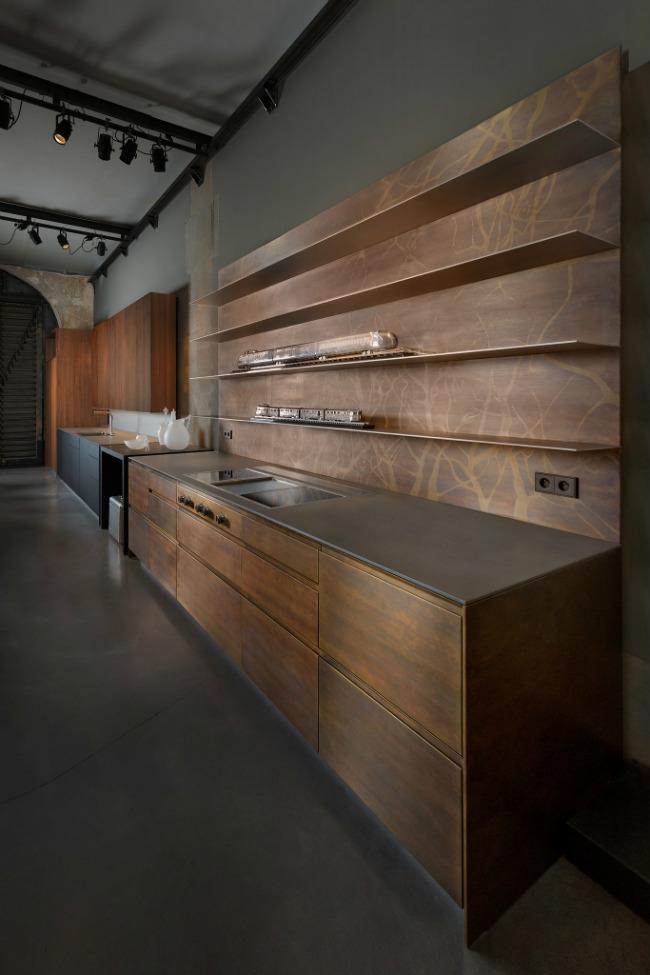 The gorgeous L'Eclaireur kitchen