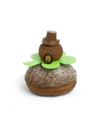 The religieuse pastry inspired by St Patrick's day