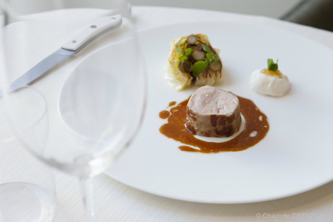 A meal at Restaurant Alliance