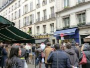 Easter process in rue de Buci