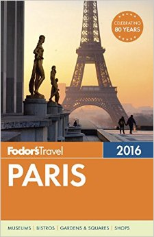Fodor's Paris guidebook
