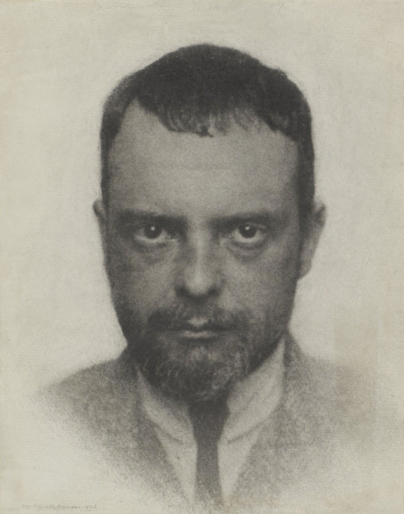 HUGO ERFURTH Portrait de Paul Klee, 1922 ©© Adagp, Paris 2016