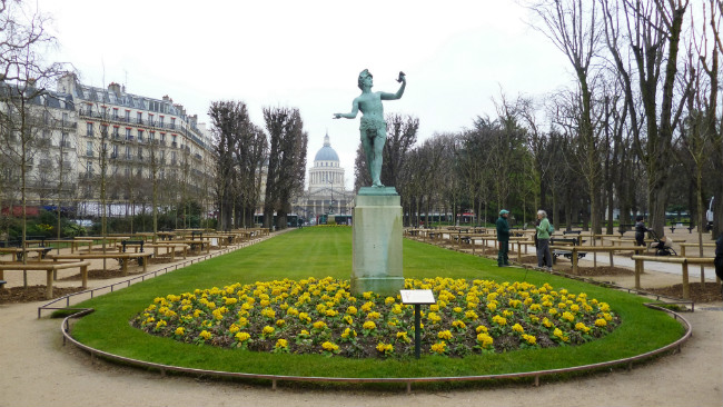 The Jardin du Luxembourg