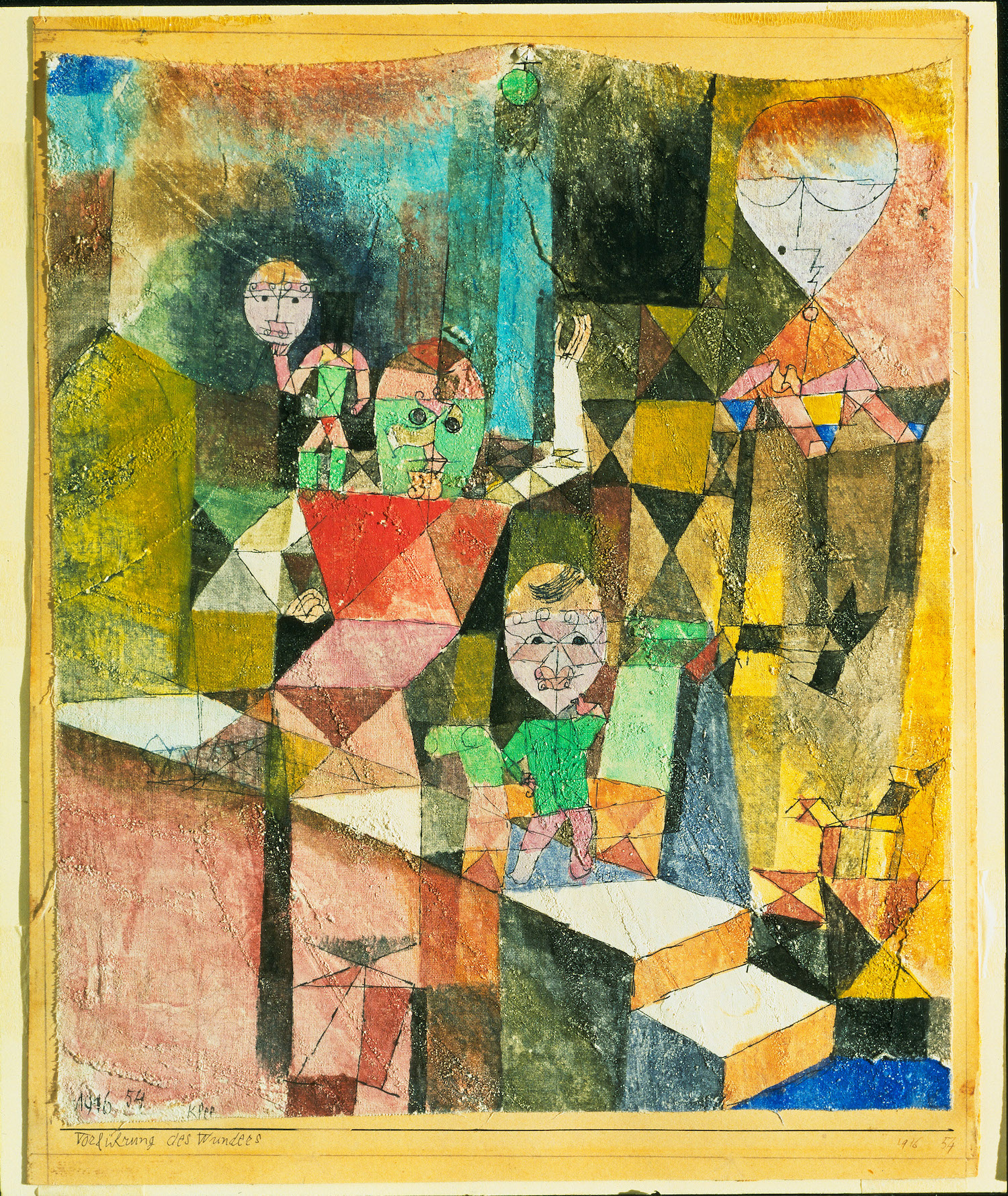 Klee, Paul, Introducing the Miracle, 1916. -The Museum of Modern Art ©New York Scala Florence.
