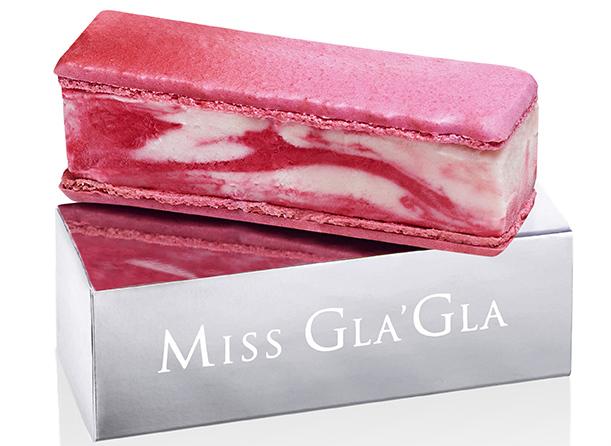 "The ""Miss Gla'Gla"" ice cream sandwich"