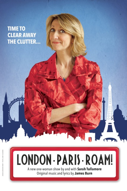 """London-Paris-Roam!,"" a one-woman show written and performed by Sarah Tullamore"