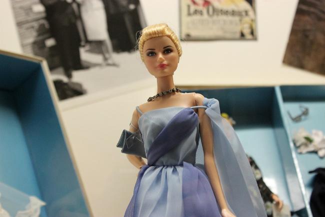Hollywood star doll at the Musée de la Poupée