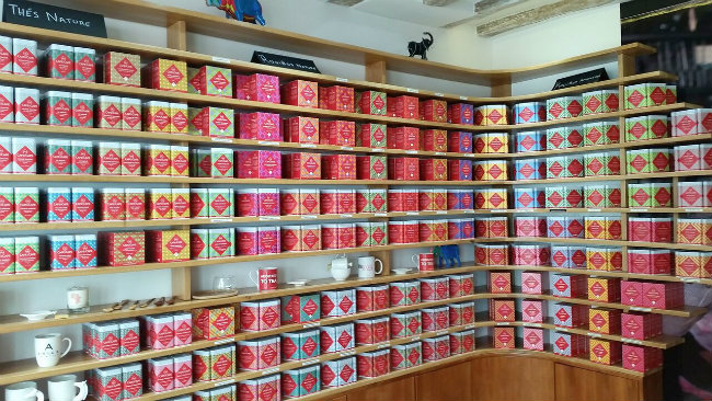 African tea collection at Cape and Cape
