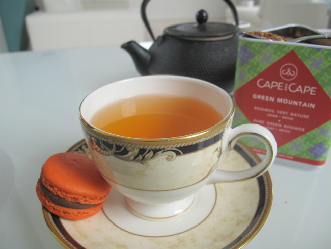 Cape and Cape: Rooibos and an African Teatime in Paris